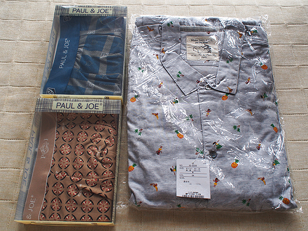 PAUL & JOEのパジャマとボクサーパンツ