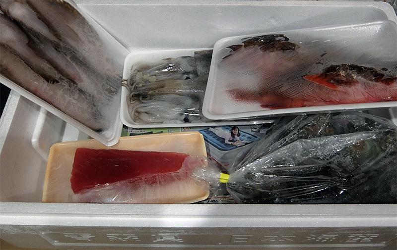 ふるさと納税(2020)返礼品(青森県深浦町 – 大漁まるごと海鮮セット)